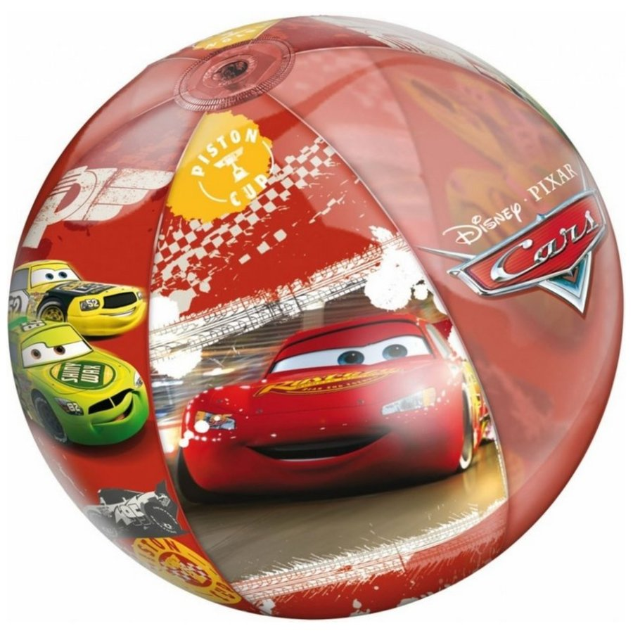 Plážový míč - Nafukovací plážový míč MONDO - Cars 50 cm