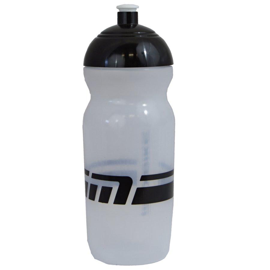 Transparentní cyklistická láhev na pití Maxbike - objem 0,6 l