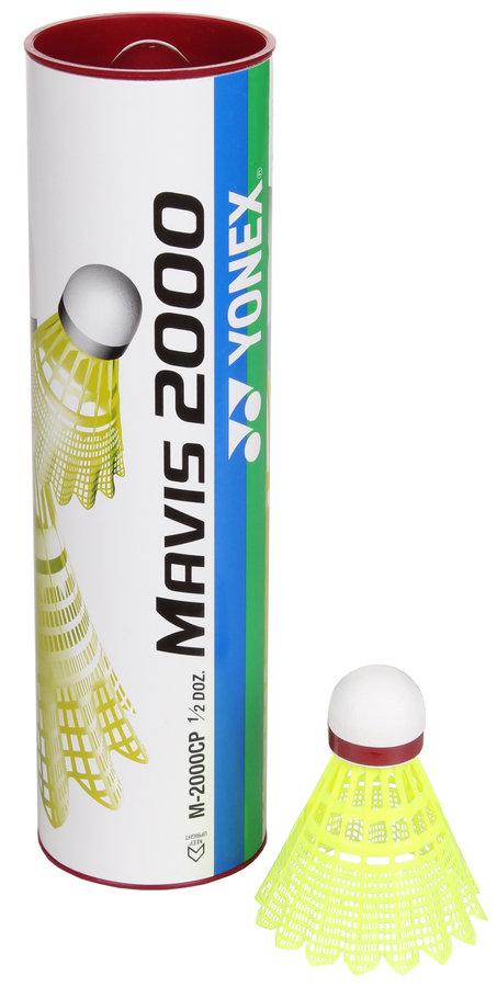 Péřový badmintonový míček Yonex - 6 ks