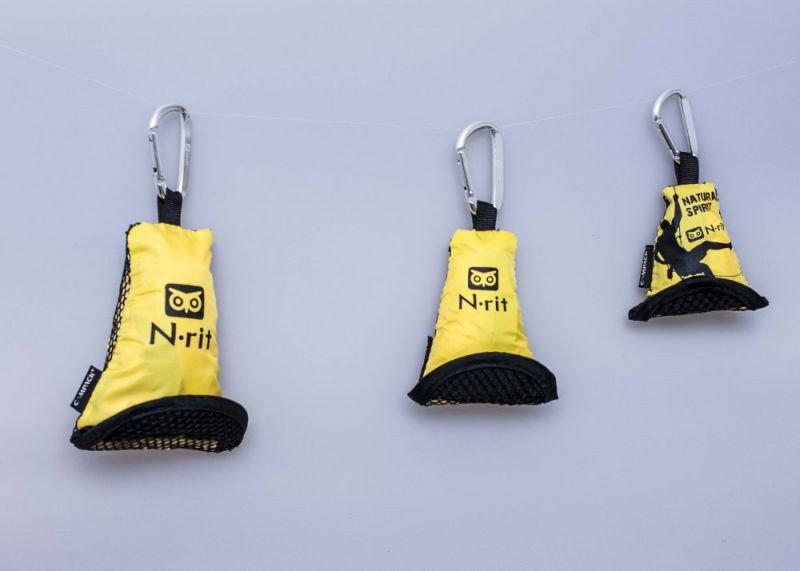 Ručník - Ručník N-Rit Campack Towel S Barva: žlutá