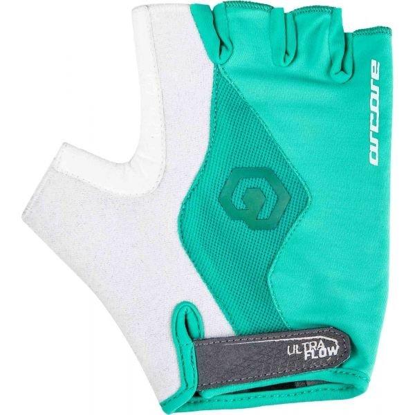 Bílo-modré cyklistické rukavice Arcore