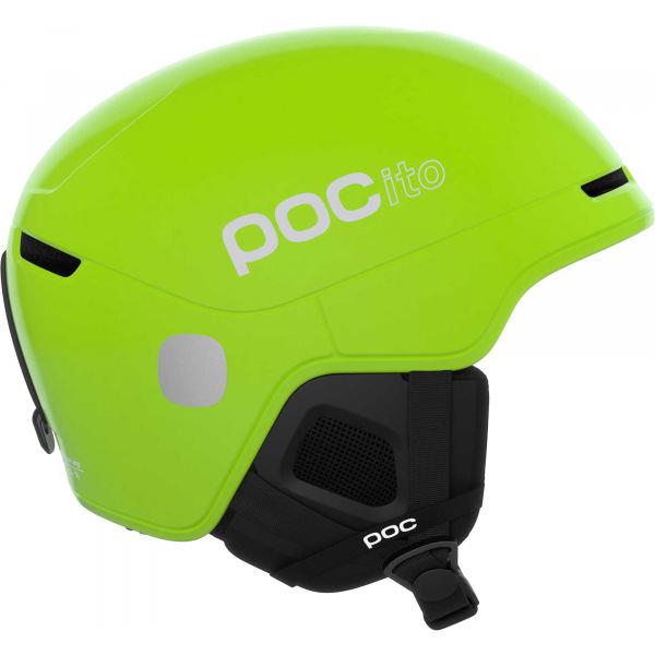 Zelená lyžařská helma POC - velikost 48-53 cm