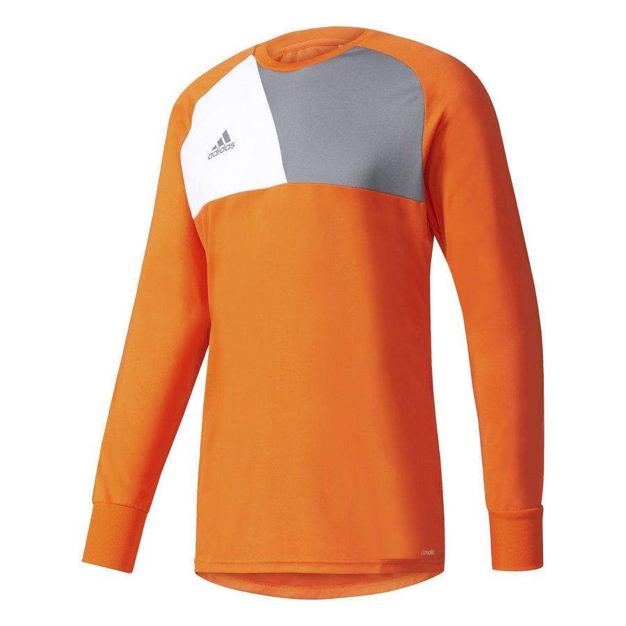Oranžový dětský brankářský fotbalový dres Assita 17, Adidas - velikost 116