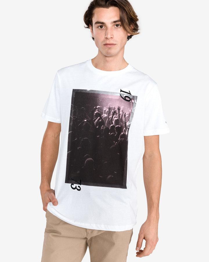 Bílé pánské tričko s krátkým rukávem Pepe Jeans