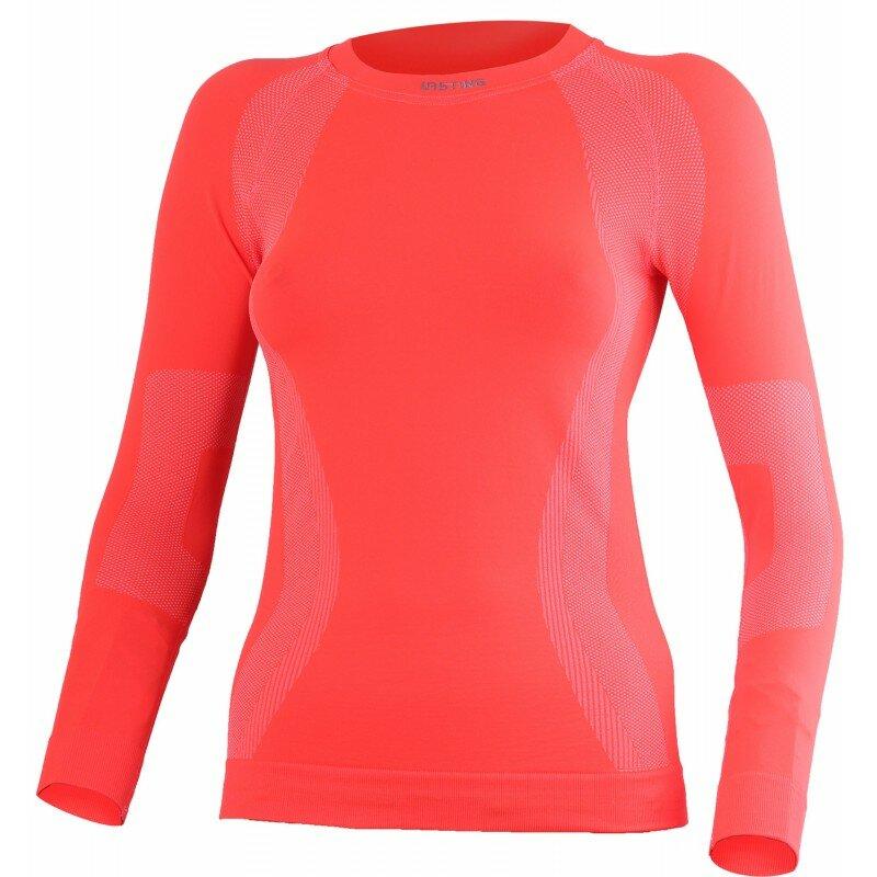 Oranžové dámské funkční tričko Lasting - velikost L-XL