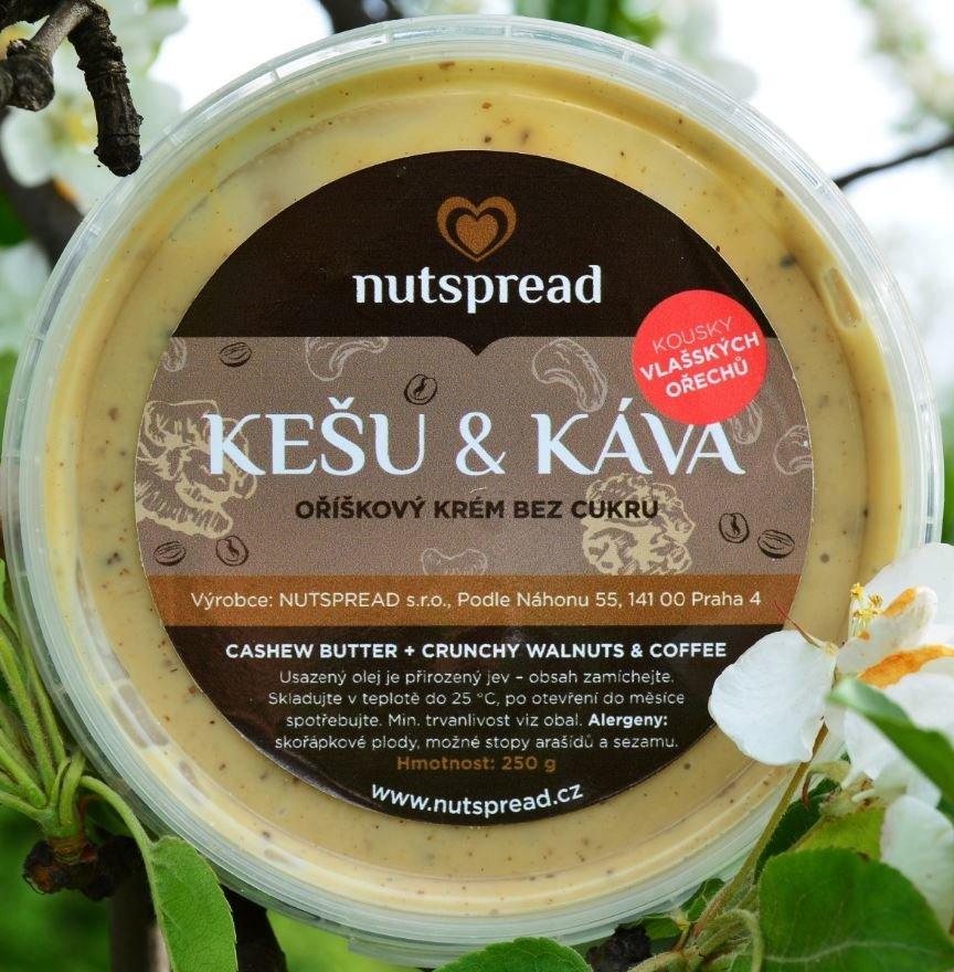 Máslo Nutspread - 1000 g, Ořechy Nutspread - 1000 g