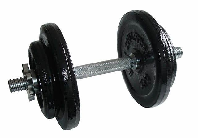 Nakládací činka Acra - 20 kg