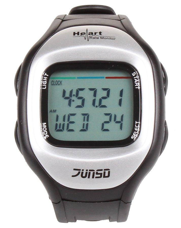 Černo-šedý sporttester JS-711A, Junso