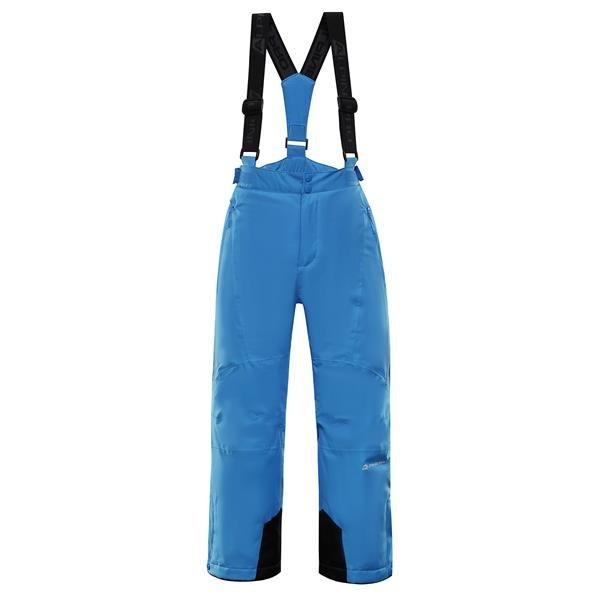 Modré dětské lyžařské kalhoty Alpine Pro - velikost 92-98