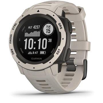 Šedé chytré hodinky Instinct Tundra, Garmin
