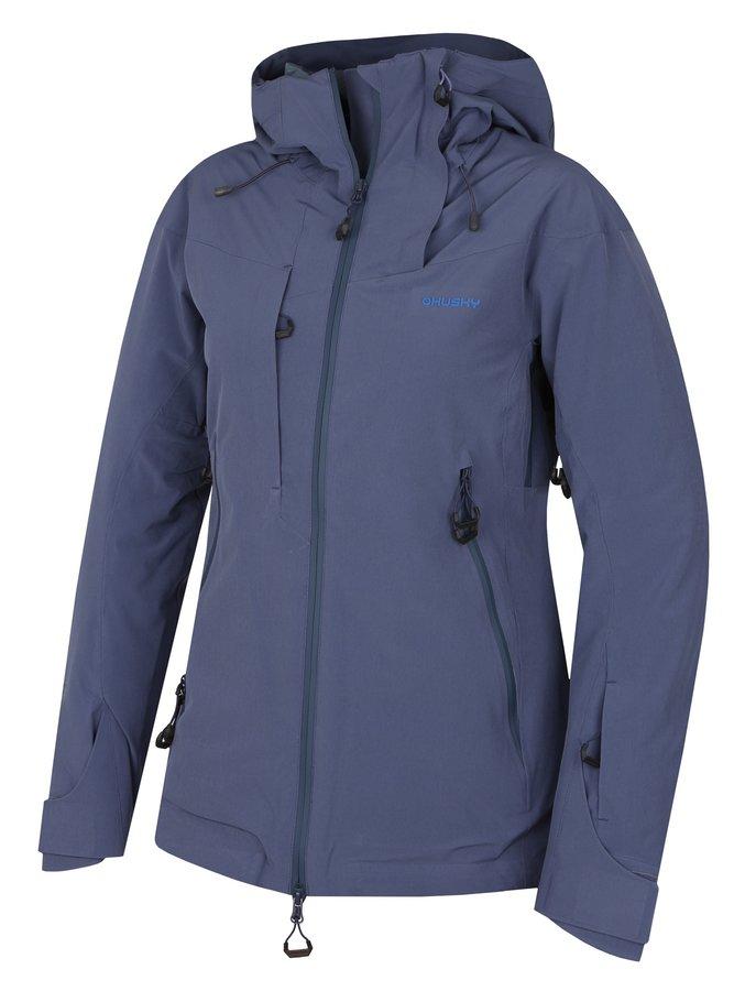 Fialovo-modrá dámská lyžařská bunda Husky