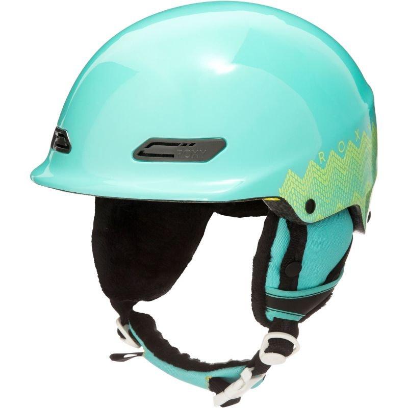 Lyžařská helma - HELMA SNB ROXY POWER POWDER - mořská zeleň - 54