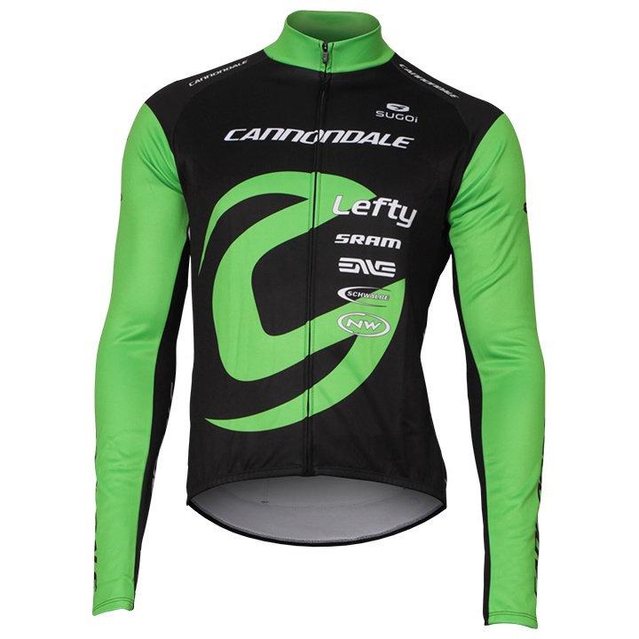 Černo-zelený pánský cyklistický dres Cannondale - velikost L