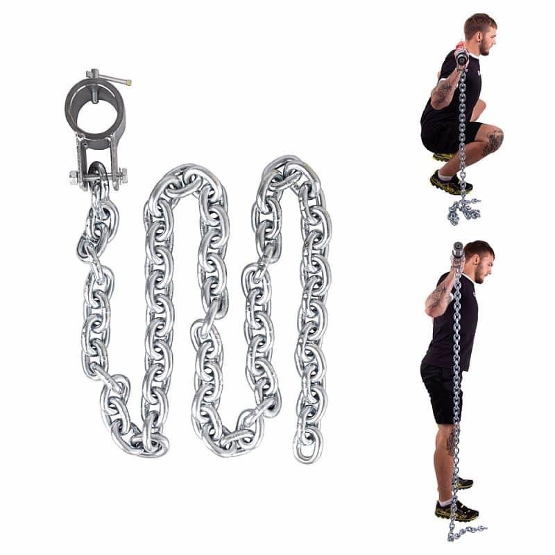 Vzpěračský řetěz inSPORTline - 10 kg