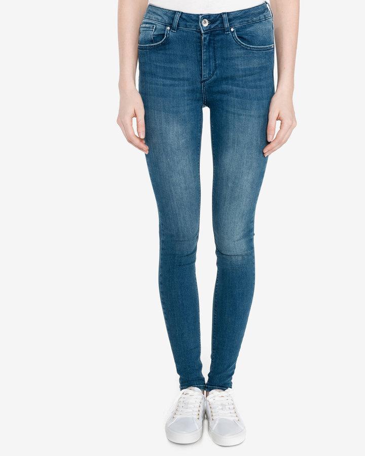Modré dámské džíny Vero Moda