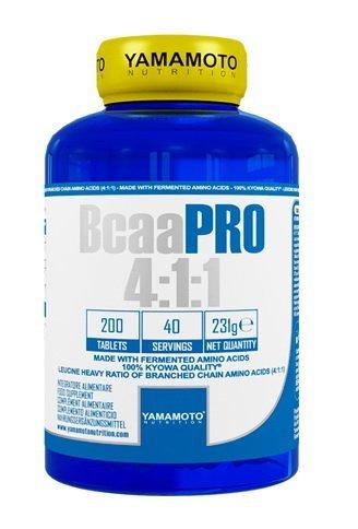 BCAA - BCAA Pro 4: 1: 1 - Yamamoto 200 tbl.