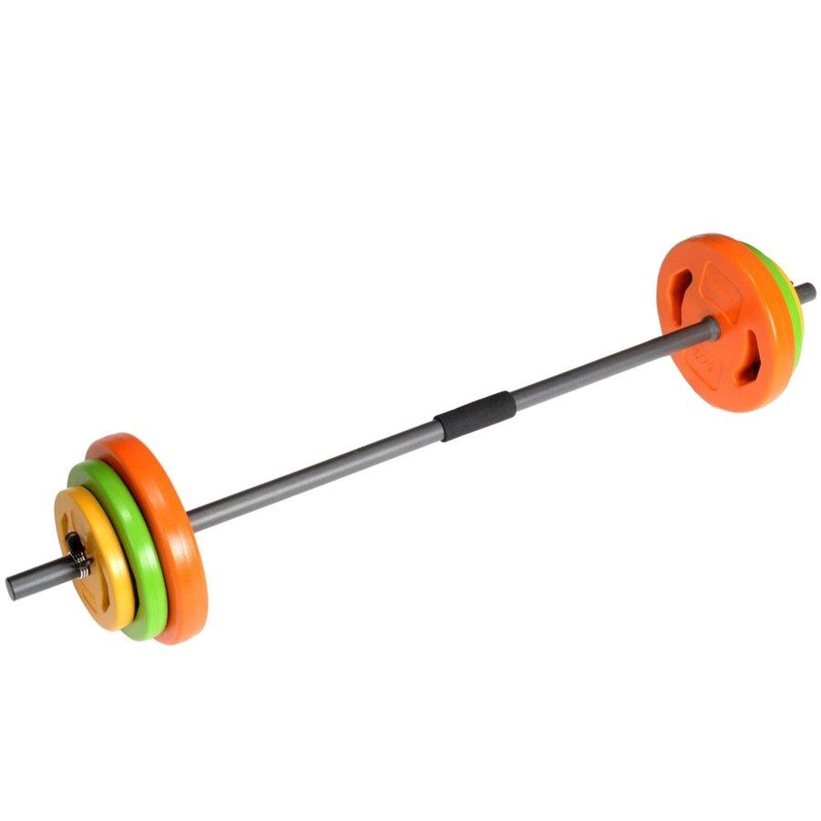 Rovná obouruční činka Tunturi - 20 kg