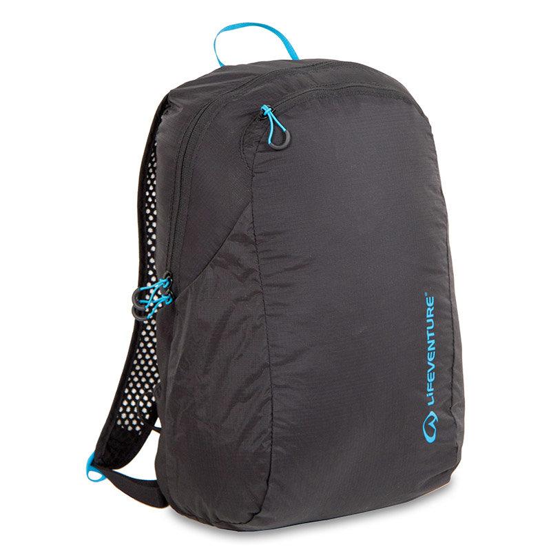 Černý turistický batoh Lifeventure - objem 16 l