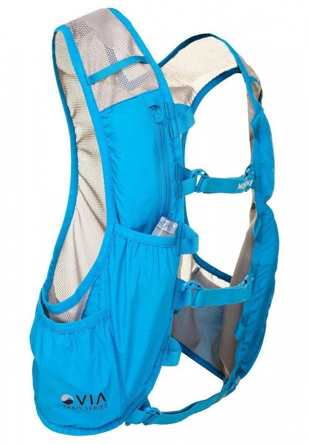 Modrá pánská běžecká vesta Montane - velikost S-M