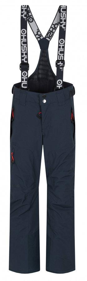 Šedé dětské lyžařské kalhoty Husky - velikost 122