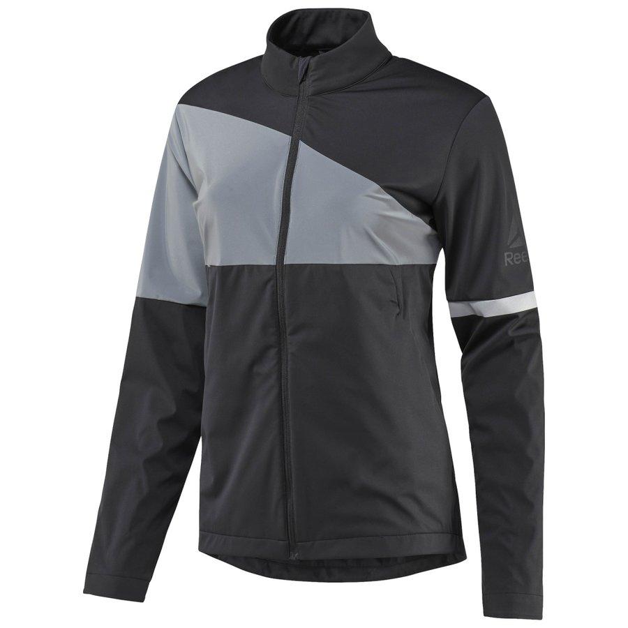 Černá dámská běžecká bunda Vizlocity Jkt, Reebok - velikost M