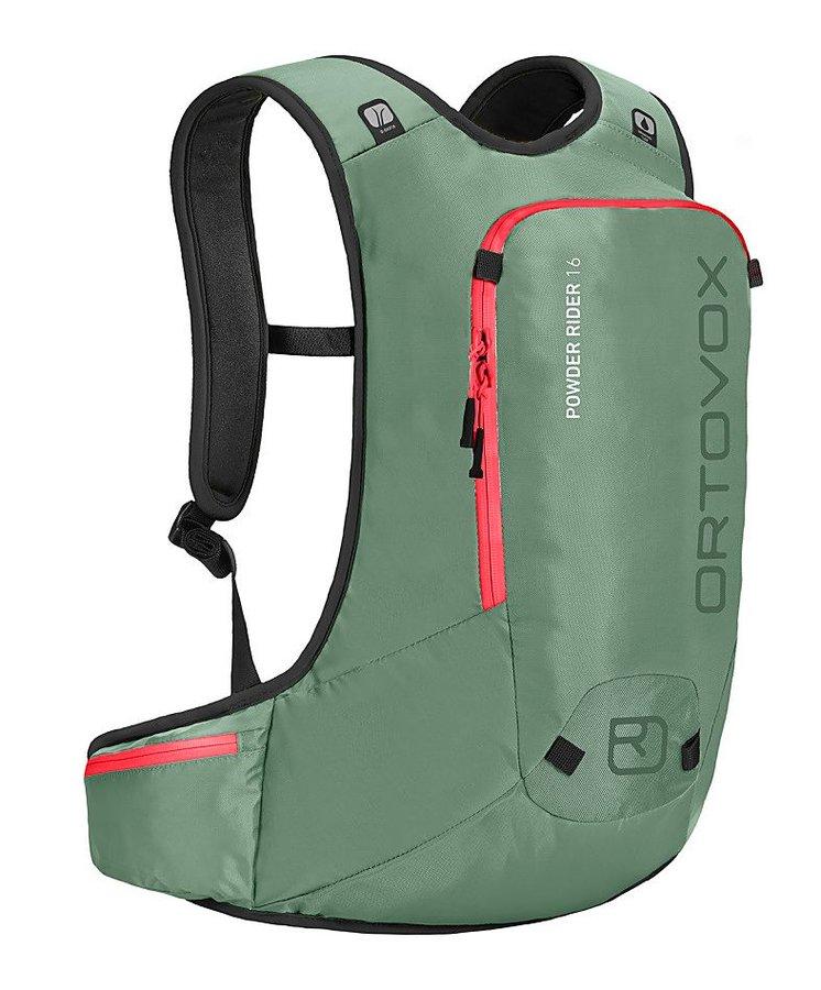 Zelený turistický batoh Ortovox - objem 16 l