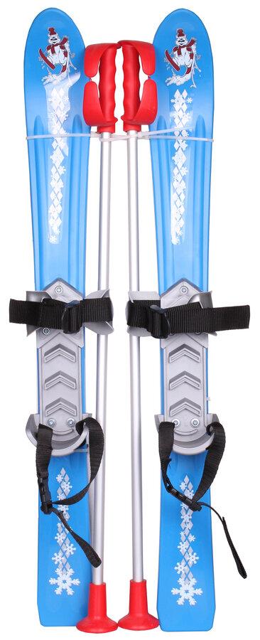 Modrá dětská sada na sjezdové lyžování Merco - délka 70 cm