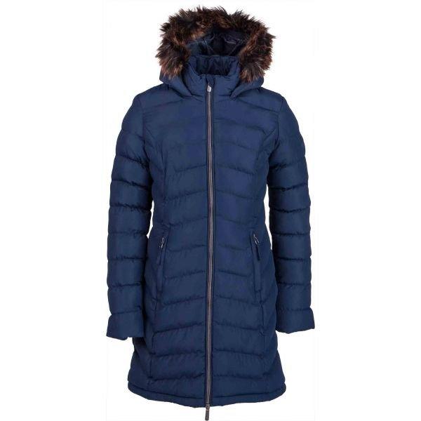 Modrý zimní dívčí kabát Lotto