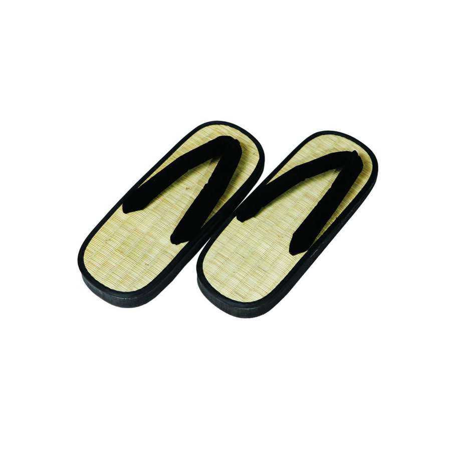 Béžovo-černé pantofle