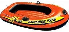Oranžový nafukovací člun pro 1 osobu Explorer, INTEX