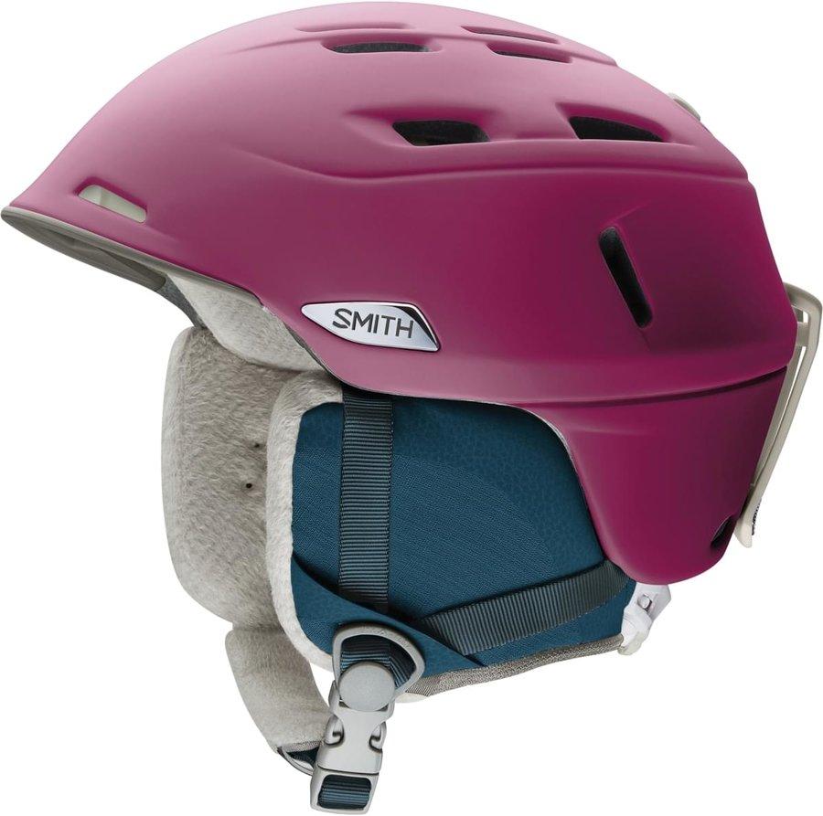 Růžová dámská helma na snowboard Smith - velikost S