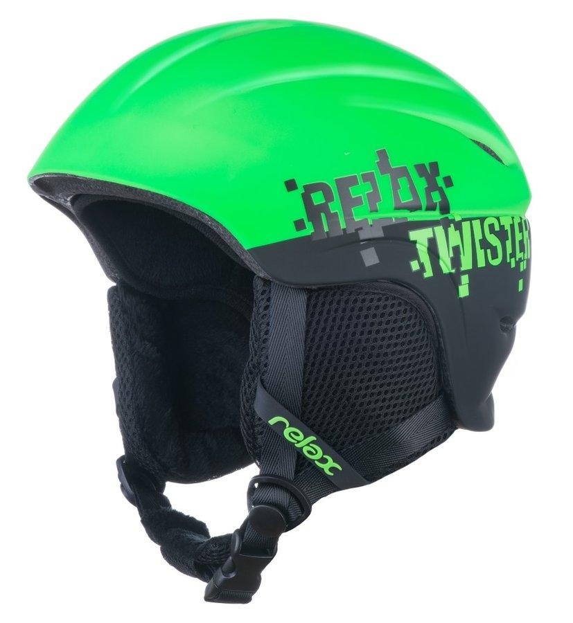 Lyžařská helma - Relax TWISTER RH18T dětská/juniorská lyžařská helma Velikost: S: 53-56 cm