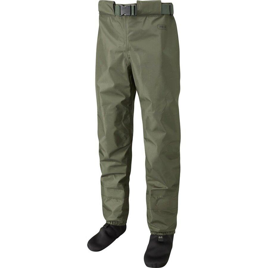 Khaki brodící kalhoty Profil Breathable Waist Waders, Leeda - velikost L