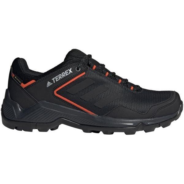 Černé pánské trekové boty Adidas