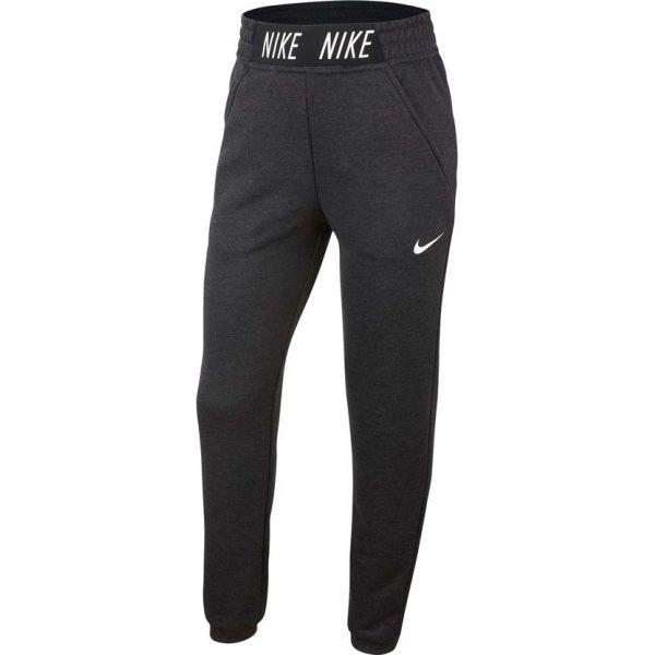 Černo-šedé dívčí tepláky Nike - velikost S