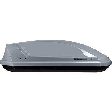 Stříbrný střešní box NEUMANN - délka 131 cm a šířka 72 cm