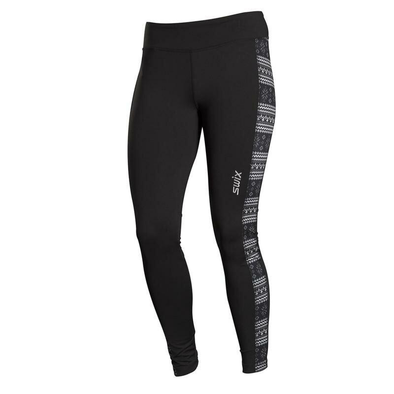 Černé dámské funkční kalhoty Swix - velikost L