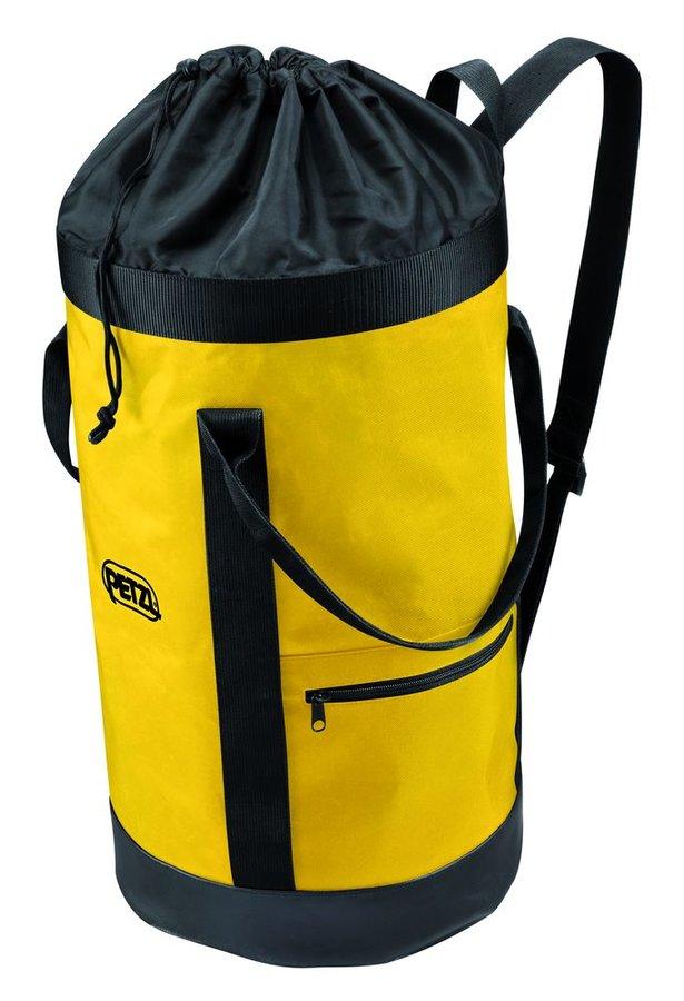 Žlutý vak na lezecké lano Petzl - objem 35 l