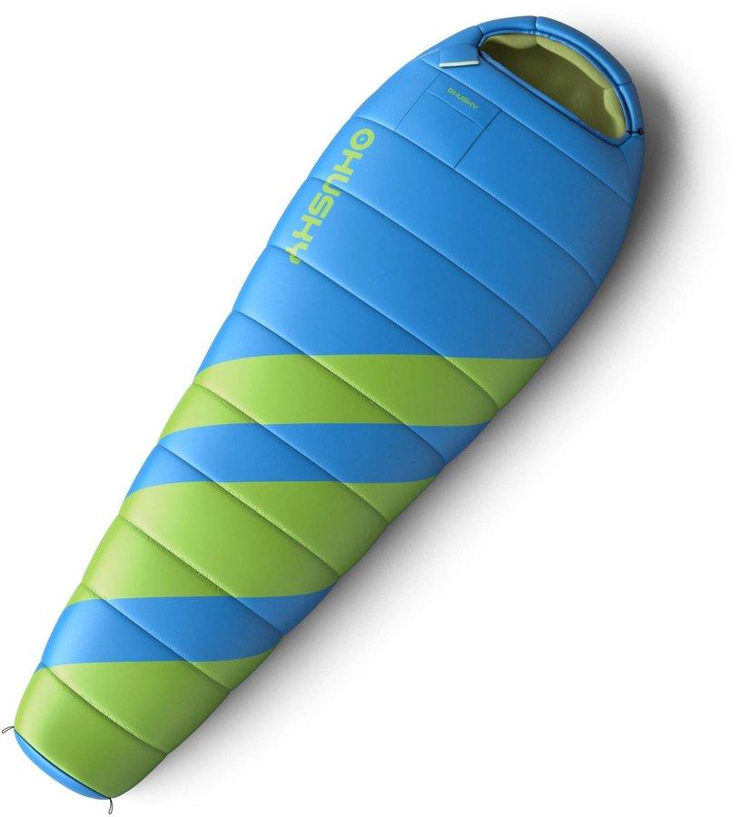 Modrý spací pytel Husky - délka 220 cm