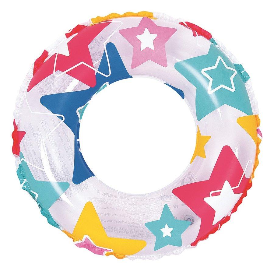 Různobarevný nafukovací kruh Master Pool