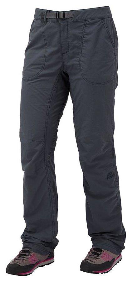 Modré dámské turistické kalhoty Mountain Equipment