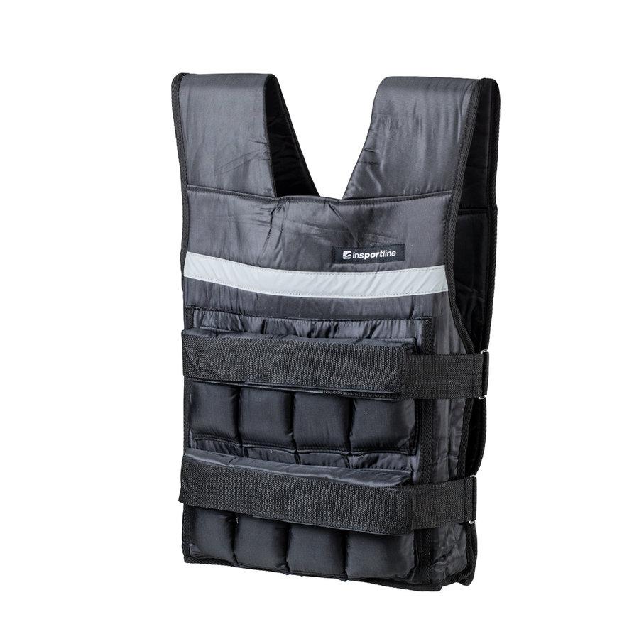 Černá zátěžová vesta Crixus, Insportline - 10 kg