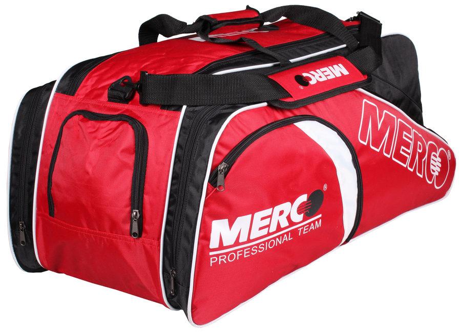 Černo-červená tenisová taška Merco