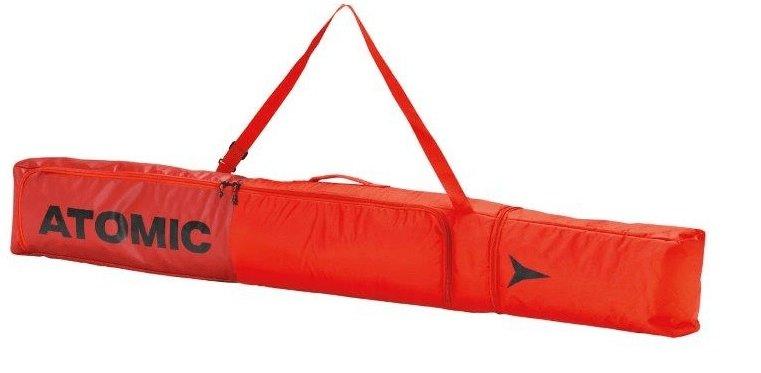 Červený vak na lyže pro 1 pár Atomic - délka 195 cm