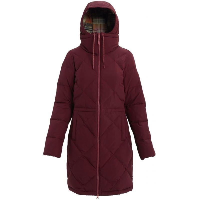 Červená dámská snowboardová bunda Burton - velikost S