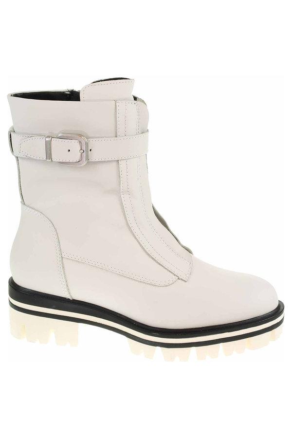 Bílé dámské zimní boty Tamaris