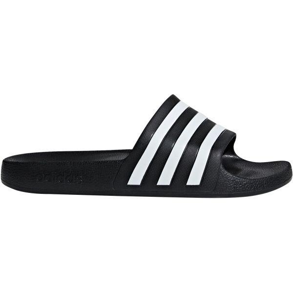 Černé pantofle Adidas - velikost 36 2/3 EU