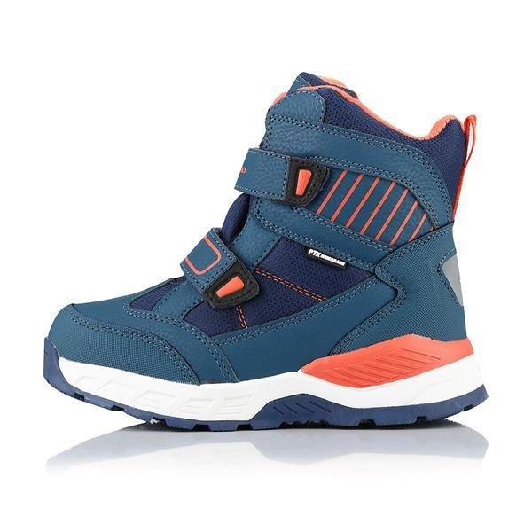 Modré dětské zimní boty Alpine Pro - velikost 33 EU