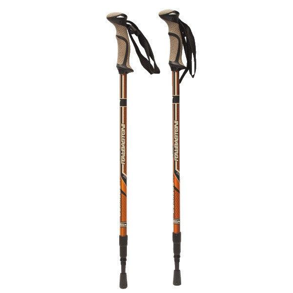 Oranžová trekingová hůl Trekker, Yate - délka 140 cm