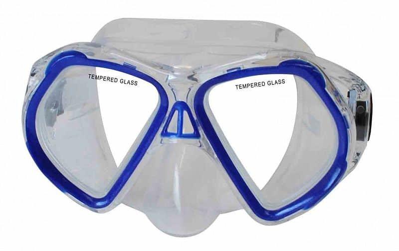 Potápěčská maska - Potápěčská maska CALTER JUNIOR 4250P, modrá